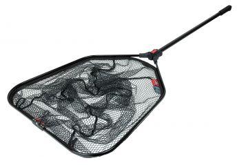 Foxrage Speedflow II XS Foldable Net zwart - grijs - rood roofvis visschepnet Large