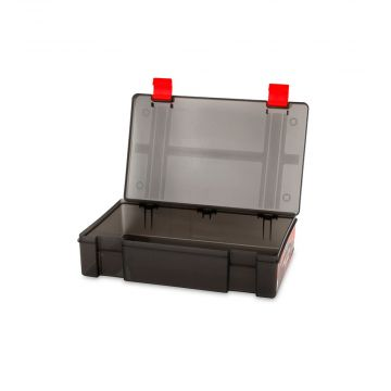 Foxrage Stack N Store Lure Box zwart - rood roofvis visdoos Full Compart