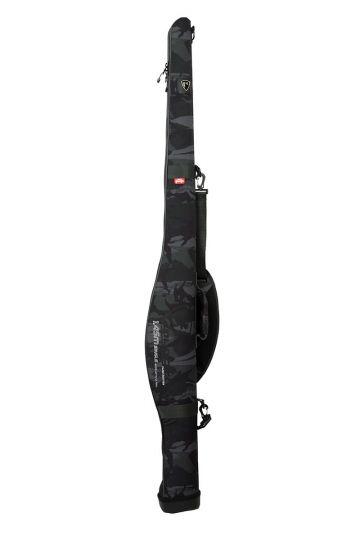 Foxrage Voyager Camo Rod Case Single zwart - grijs roofvis visfoudraal 1m45