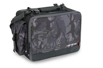 Foxrage Voyager Camo Shoulder Bag zwart - grijs - wit roofvis roofvistas Medium