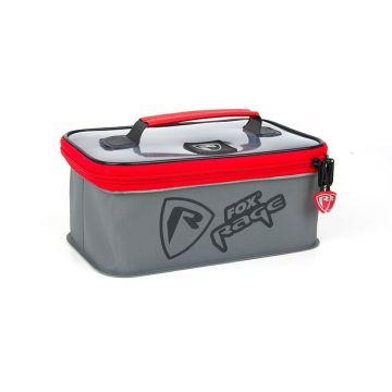 Foxrage Voyager Welded Accessory Bags ZWART - GRIJS - ROOD roofvis roofvistas Medium