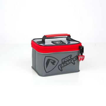 Foxrage Voyager Welded Accessory Bags zwart - grijs - rood roofvis roofvistas Small