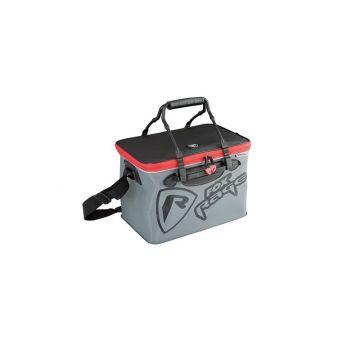 Foxrage Voyager Welded Bags zwart - grijs - rood roofvis roofvistas Medium