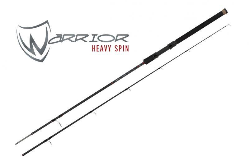 Foxrage Warrior Heavy Spin zwart roofvis spinhengel 2m40 40-80g