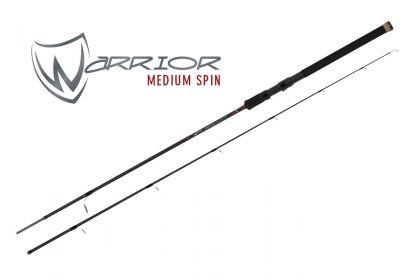 Foxrage Warrior Medium Spin zwart roofvis spinhengel 2m40 15-40g