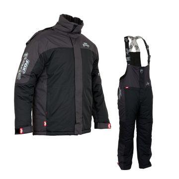 Foxrage Winter Suit V2 zwart - grijs warmtepak Small