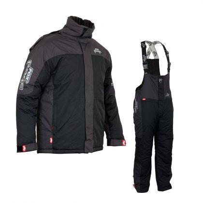 Foxrage Winter Suit V2 zwart - grijs warmtepak Xx-large