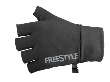Freestyle Gloves Fingerless noir  Large