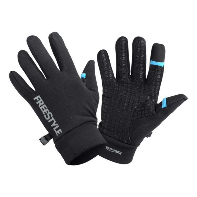 Freestyle Gloves Touch zwart handschoen Large