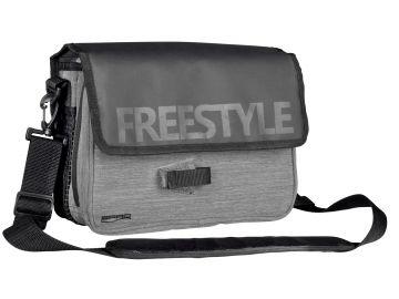 Freestyle Jigging Bag zwart - grijs roofvis roofvistas 30x23x10cm