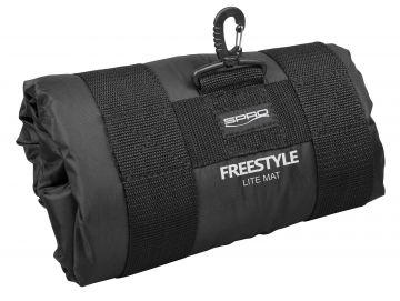 Freestyle Lite Mat zwart - wit roofvis onthaakmat 80cm