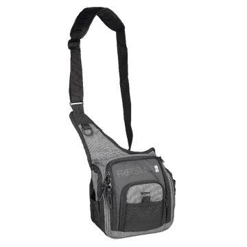 Freestyle Shoulderbag V2 zwart - grijs roofvis roofvistas