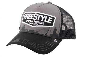 Freestyle Trucker Cap Grey zwart - grijs pet Uni
