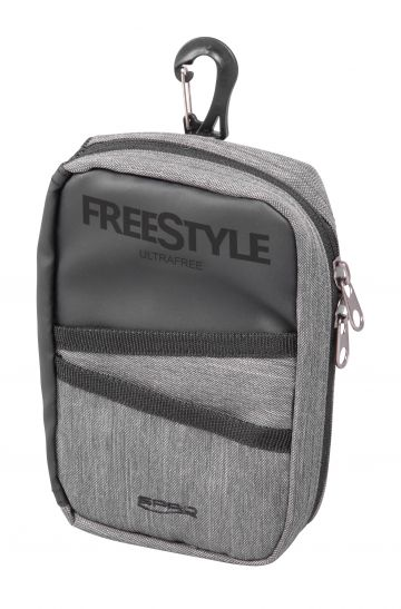 Freestyle Ultrafree Lure Pouch zwart - grijs roofvis roofvistas 19x13x4cm
