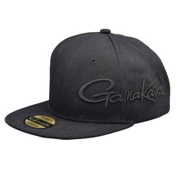 Gamakatsu Flat Cap zwart pet Uni