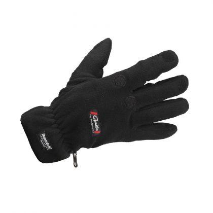 Gamakatsu Fleece Gloves zwart handschoen