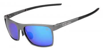 Gamakatsu G-Glasses Alu grey light blue mirror viszonnenbril