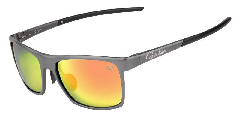 Gamakatsu G-Glasses Alu grey red mirror viszonnenbril
