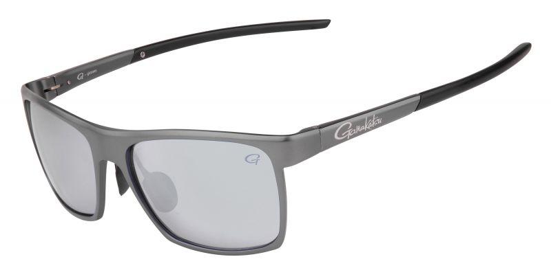 Gamakatsu G-Glasses Alu light grey white mirror viszonnenbril