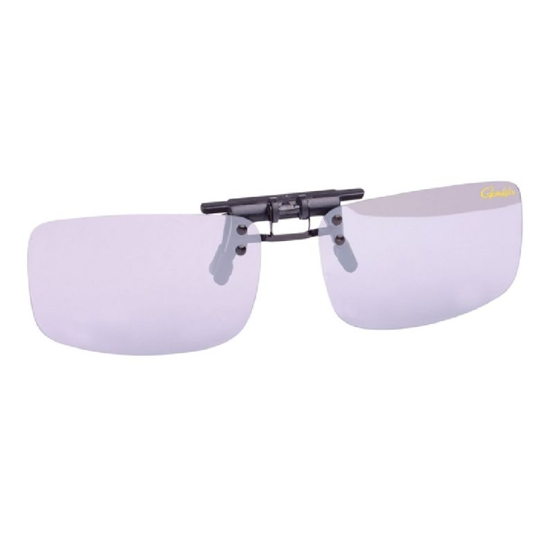 Gamakatsu G-Glasses Clip-On gris clair - mirror