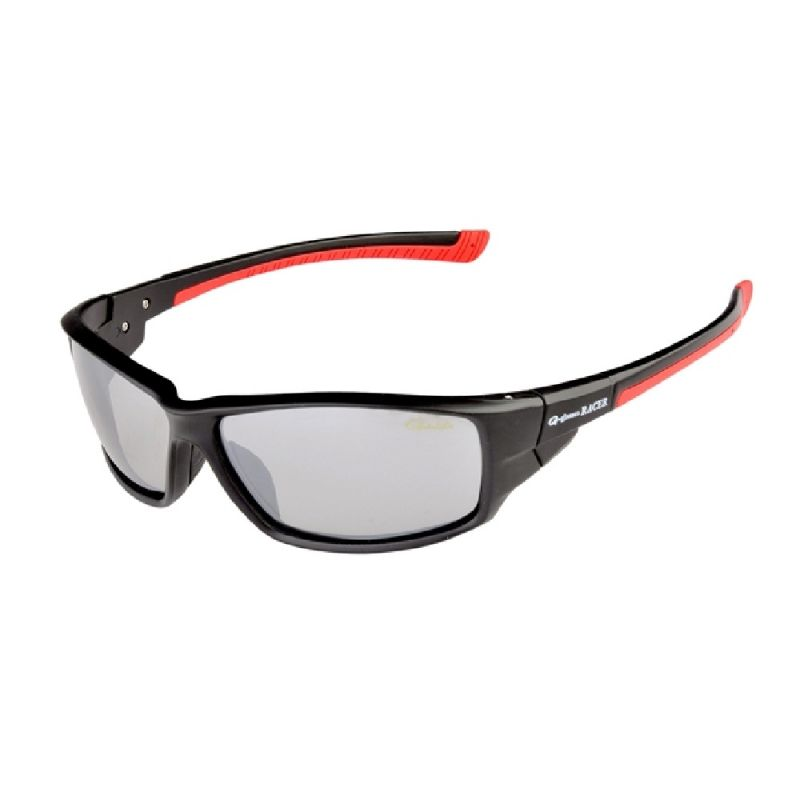 Gamakatsu G-Glasses Racer licht grijs - mirror viszonnenbril