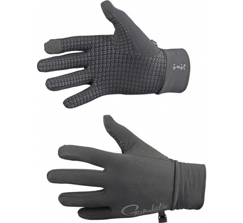 Gamakatsu G-Gloves Touch zwart handschoen X-large