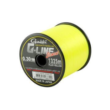 Gamakatsu G-Line Element fluo yellow zeevis visdraad 0.28mm 1490m 5.7kg
