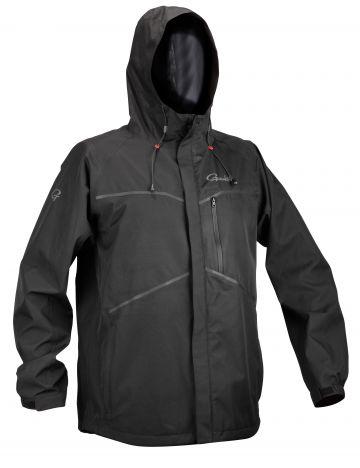 Gamakatsu G-Rain Jacket 2.5 Layer zwart visjas X-large