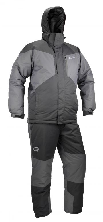 Gamakatsu G-Thermal Suit zwart - grijs warmtepak Medium