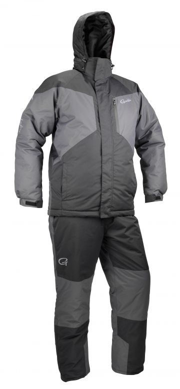 Gamakatsu G-Thermal Suit zwart - grijs warmtepak Xxx-large