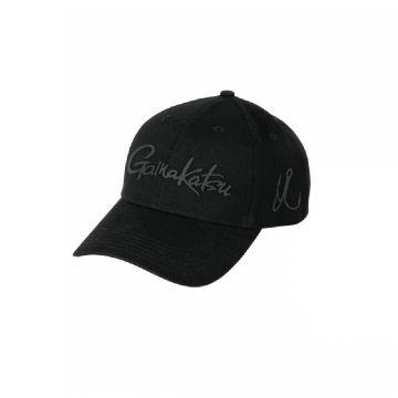 Gamakatsu Silicone Logo Cap zwart pet Uni