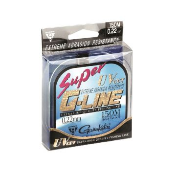 Gamakatsu Super G-Line clear visdraad 0.12mm 150m 1.42kg
