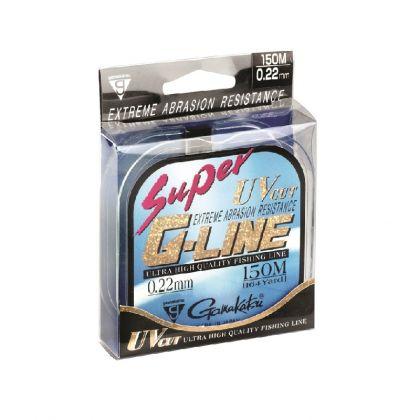 Gamakatsu Super G-Line clear visdraad 0.24mm 150m 5.23kg
