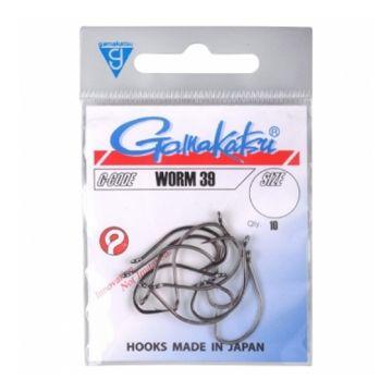 Gamakatsu Worm 39 nickel roofvis vishaak 1