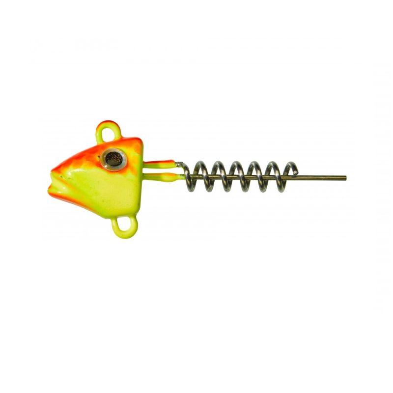 Gunki G'Fish Screw orange fluo yellow roofvis vislood 15g