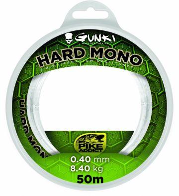 Gunki Hard Mono clear roofvis visdraad 0.80mm 50m 28.30kg
