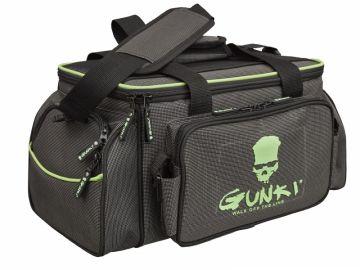 Gunki Iron-T Box Bag Up-Zander Pro zwart - groen - grijs roofvis roofvistas 33x23x20cm