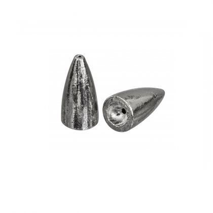 Gunki Kogellood Carolina zilver roofvis vislood 3.5g