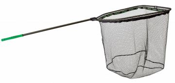 Gunki Pike Addict Folding 90x100 zwart - groen roofvis visschepnet 2m35