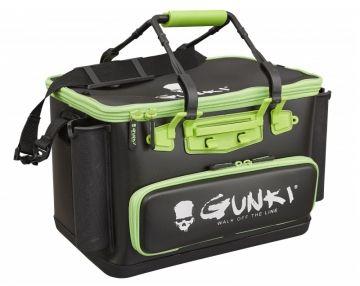 Gunki Safe Bag Edge 40 Hard zwart - groen roofvis roofvistas 40x26x26cm