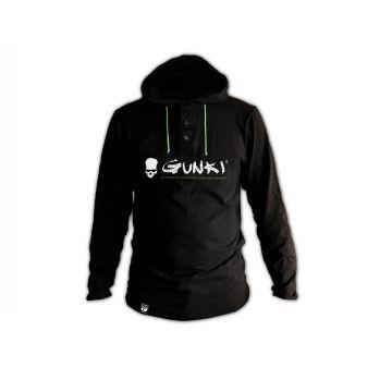 Gunki Sweater Met Capuchon ZWART - GROEN vistrui Xxl