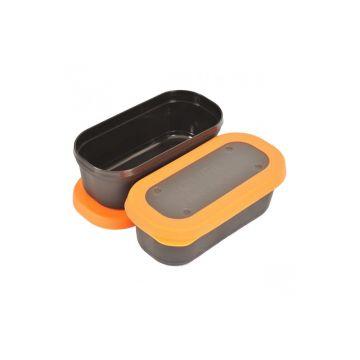 Guru Bait Box zwart - oranje madendoos 2.20pt