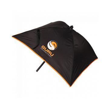 Guru Bait Umbrella noir - orange