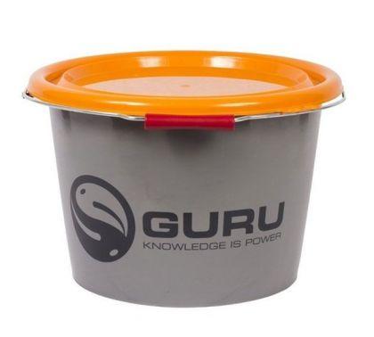Guru Bucket 18Ltr grijs - oranje visemmer