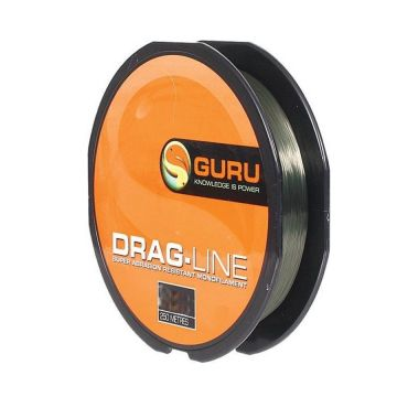 Guru Drag Line clear - groen visdraad 0.28mm 250m