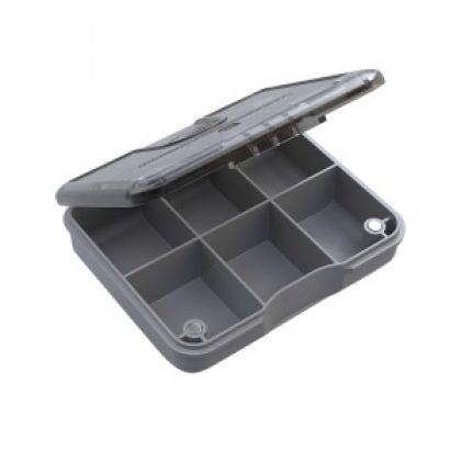 Guru Feeder Box Accessory Box 6 Compartiments grijs visdoos