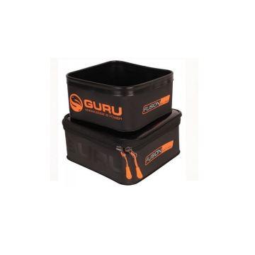 Guru Fusion 600 Bait Pro zwart - oranje foreltas witvistas