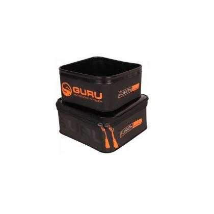 Guru Fusion Bait Pro 200 + 300 Combo zwart - oranje foreltas witvistas