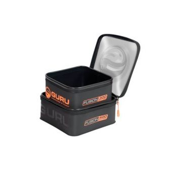 Guru Fusion Bait Pro 300 + 400 Combo zwart - oranje foreltas witvistas