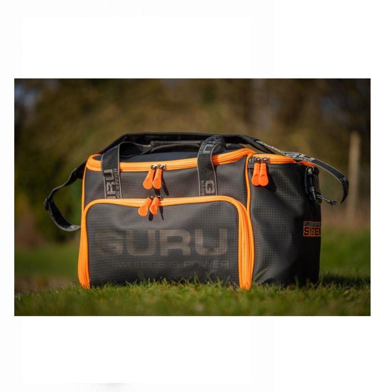 Guru Fusion Feeder Box System Bag zwart - oranje foreltas witvistas